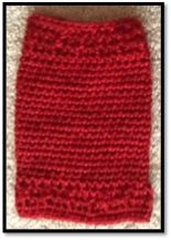 Crochet PICC Bandage Cover image 3 crochet or knit PICC line covers http://www.knotsoflove.org/patterns/