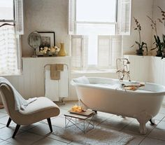 How perfect is this bathroom?