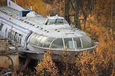 Abandoned Soviet Hydrofoil