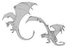 Thorny Dragon sketches, Javier Franco Santacreu