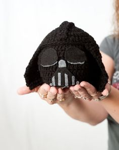 Star Wars inspired Darth Vader Hat from Noni and Carolyn! @Mary Park