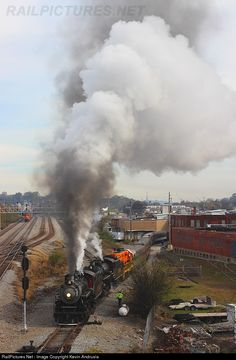 RailPictures.Net Photo: SOU 630 Southern Railway Steam 2-8-0 at Chattanooga, Tennessee by Kevin Andrusia