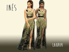 Hi everyone! This is my new dress. It is inspired in one of my favourites Elie Saab Haute Couture dresses of 2016-2017 collection. Hope you love it! Found in TSR Category 'Sims 4 Female Formal'