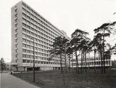 Historic: Tilburg University. Then called buidling C, now called Koopmans