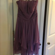 David's bridal purple dress size 2 Style f14169 David's bridal dress, size 2, worn once David's Bridal Dresses