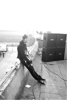 Jack Barakat on the set of Time Bomb. I feel so weird... Knowing where this was taken...
