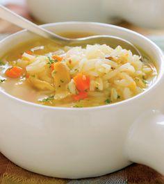 Supa cu pui si orez Supe, Healthy Soup, Food Ideas, Ethnic Recipes