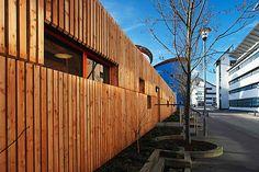 Scottish Larch external timber cladding.