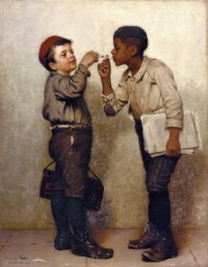 Give Us a Light  John George Brown, c. 1889