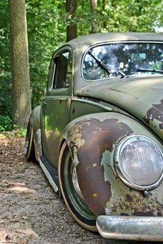 Volkswagen – One Stop Classic Car News & Tips Vw Bus, Vw Volkswagen, Carros Retro, Vw Rat Rod, Kdf Wagen, Rat Look, Vw Vintage, Buggy, Sweet Cars