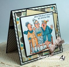 Gramma's House of Cards: Art Impressions Hobby Lobby Blog Hop and a prize!!!