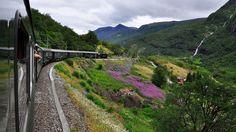 Junamatkalla voi ihastella muun muassa tällaisia maisemia. Copyright: Karen Blumberg. Kuva: Karen Blumberg.