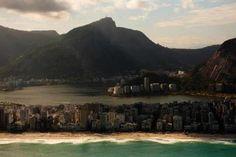 Rio de Janeiro: Praia de Ipanema, Lagoa Rodrigo de Freitas. <3