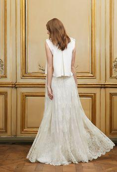 Yuko top & Robinson skirt - Pagan Bride Campaign - Delphine Manivet