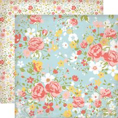 Echo Park - Sisters Collection - 12 x 12 Double Sided Paper - Sisters Floral at Scrapbook.com $0.89