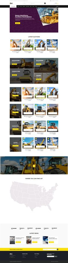 ALL KIND OF HEAVY MACHINERY auction site auctions site auction wordpress auction platform Heavy Machinery, Wordpress, Auction, Platform, Heel, Wedge, Heels