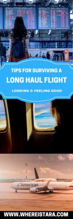 Long haul flights can be hard on your body, skin, hair and more. So here's my top tips for surviving your next long haul flight. From what to wear on the plane to what to pack in your carry on.
