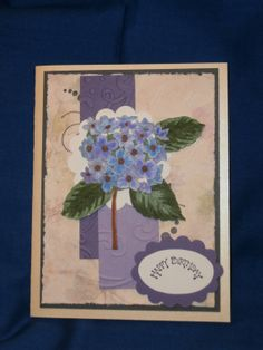 Happy Birthday Card C176 by PurpleIntentions on Etsy, $3.25