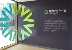 Best Awards - Strategy Design and Advertising. / Campus Living Villages Brand Identity