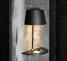 Illusion Lamp for Northern Lighting. love the wall-mounted version - maybe there's a way to riff on this idea?