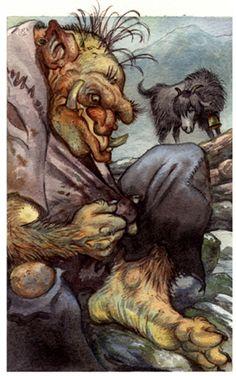David Wenzel - Children's Art - Animals Troll has a Dirty Shirt