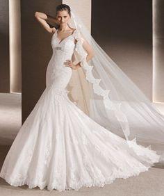 10d15843626c La Sposa 2016 menyasszonyi ruha - Romola Mermaid Gown