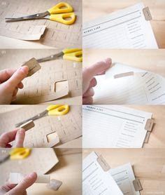 paper tabs