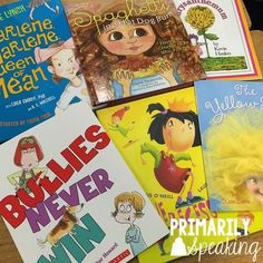 Be Kind!  Kindness week activities centered around read alouds.  Anytime is a good time to promote kindness!