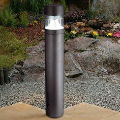 Modern-Outdoor-Garden-Aluminium-E27-LED-Pathway-Driveway-IP65-Bollard-Lamp-Light