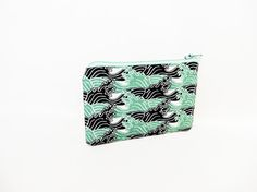 Small Zipper Pouch Small Wallet Small Card by handjstarcreations