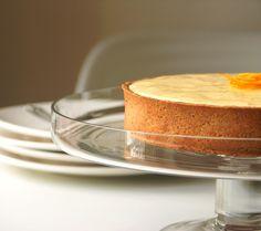 Lemon tart with Lemon Cream