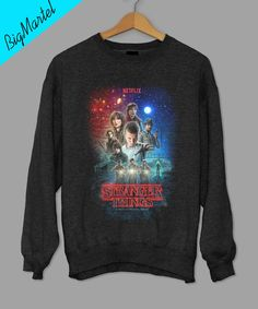 Stranger Things Netflix Sweatshirt