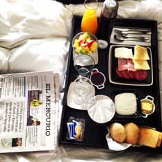 Breakfast in bed en Winery Boutique Hotel