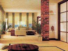 Zen Living Room Design Modern Ideas - Decor Around The World Zen Living Rooms, Japanese Living Room Decor, Living Room Plants, Living Room Images, Simple Living Room, Beautiful Living Rooms, Living Room Designs, Zen Design, House Design