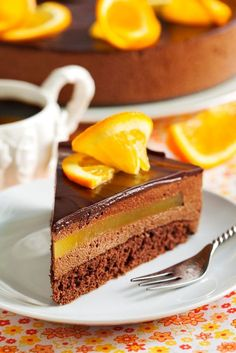 Orange Chocolate Mousse Cake by Anjelika Gretskaia on 500px