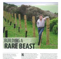 Andrew Barnes in NZ Management - Alexander PR