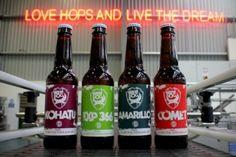 brewdog bottle label design
