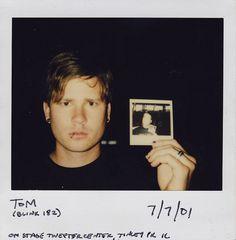 Bob Nanna's neverending polaroid: Tom Delonge