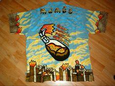 Molotov City Blue Hawaii, Bowling Shirts, Afraid Of The Dark, Aloha Shirt, Creative Director, Fabric Design, The Darkest, Hawaiian, Rationalism