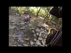 You don't need no stink'n adventure bike! HD creek crossing
