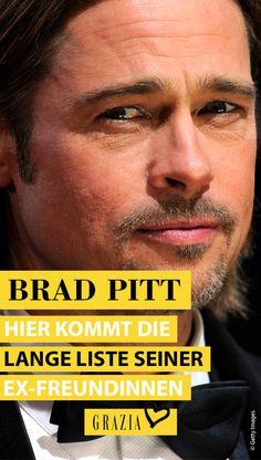 Brad Pitt gehört zu den heißesten und gefragtesten Männern Hollywoods und das ist auch den Frauen nicht entgangen. Mit welchen bekannten Ladies der Schauspieler, neben Angelina Jolie und Jennifer Aniston, noch alles auf Tuchfühlung ging, haben wir für euch recherchiert… #grazia #grazia_magazin #bradpitt #brad #angelina