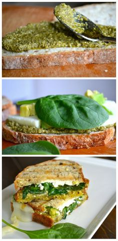 toptenlook: avocado & goat cheese grilled cheese