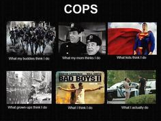 Haha! The last is my favorite. Just turn on the police scanner once in a while :-)