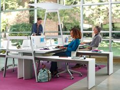 Campfire Slim Table Modern Office Table | turnstone