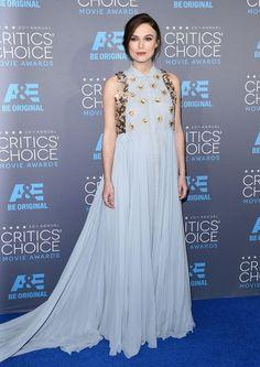 Keira Knightley Photos - Arrivals at the Critics' Choice Movie Awards - Zimbio