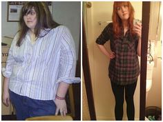 18 Before and After Weight Loss Photos - Reddit user Ashley3nb went from 330 to 165 lbs and dropped exactly 165 lbs. in 18 months. Her transformation is amazing!