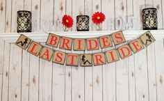 A personal favorite from my Etsy shop https://www.etsy.com/listing/241482607/bridal-shower-banner-bride-to-be
