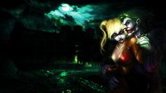 Joker n' Harley Quinn Wallpaper by Mezalira.deviantart.com on @DeviantArt