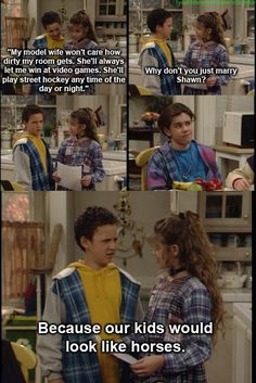 Boy Meets World. OH how I miss this show!
