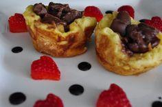 «Muffins» au pain doré!! Déjeuner spécial St-valentin